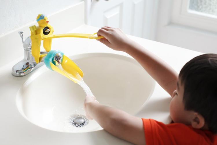 دستگیره شیر آب مخصوص کودکان