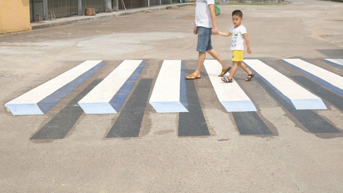 راه حل خلاقانه هند برای کاهش حوادث جاده ای ۱