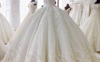 لباس عروس نورانی ۱