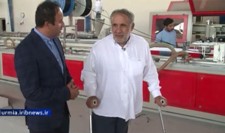 آقای حسینی، کارآفرین جانباز