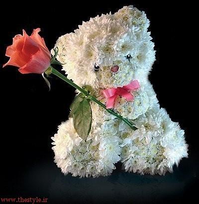 دسته گل عروسکی3