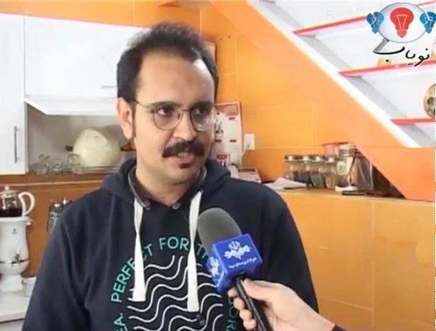 آقای خسروی کارآفرین سیستان و بلوچستان