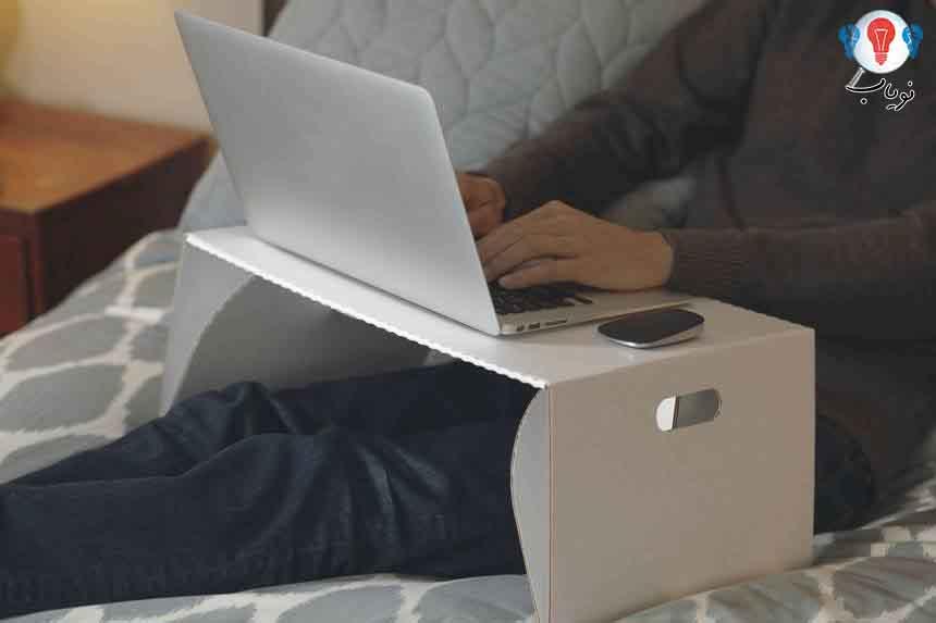 میز لپ تاپ مقوایی