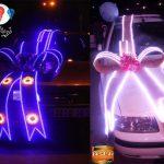 بومی سازی:تزیین ماشین عروس با لامپ های LED